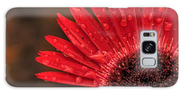 Red Flower 2 Of 2 Galaxy Case