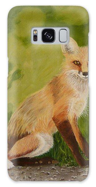 Red Fox 1 Galaxy Case