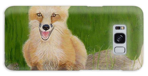 Red Fox 2 Galaxy Case