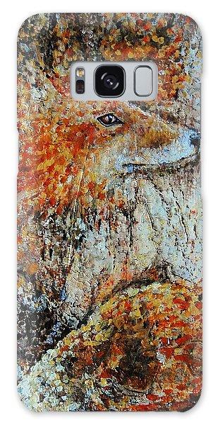 Red Fox Galaxy Case by Jean Cormier