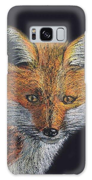 Red Fox Portrait Galaxy Case