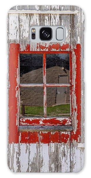 Red-framed Window Galaxy Case