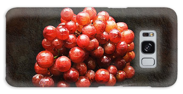 Red Grapes Galaxy Case by Andee Design