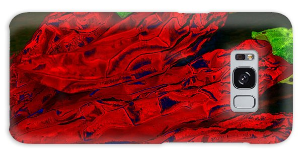 Red Hot Chili 2 Galaxy Case by Stephen Anderson