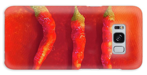 Hot Chili Peppers Galaxy Case