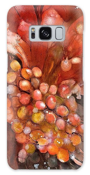 Red Hot Grapes Galaxy Case