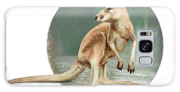 Red Kangaroo Galaxy Case