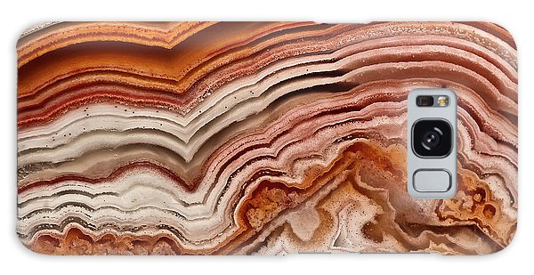Red Laguna Lace Agate Galaxy Case