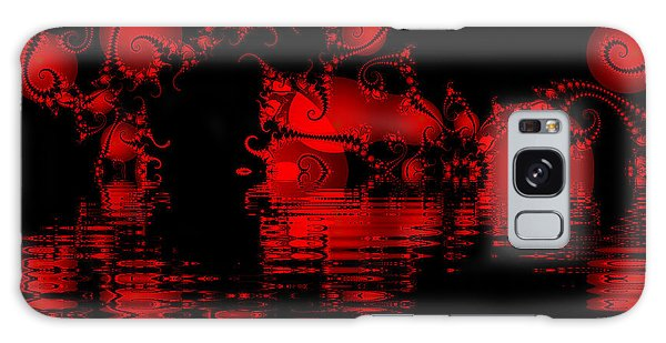Red Lake Cave Fractal Galaxy Case