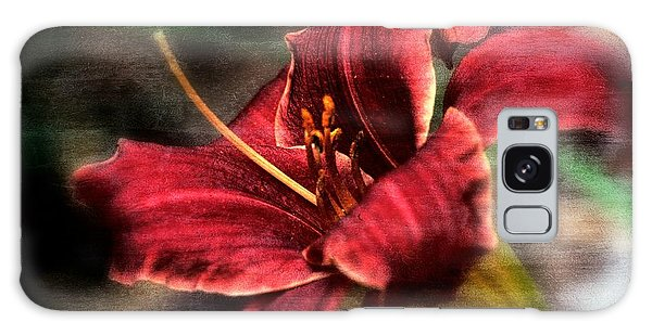 Galaxy Case featuring the photograph Red Lilly by Michaela Preston
