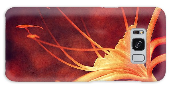 Artful Galaxy Case - Red Lilly  by Susanne Van Hulst