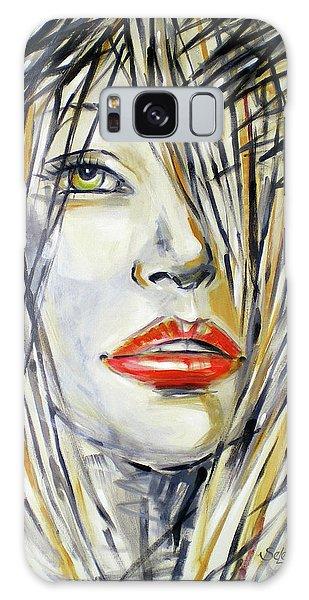 Red Lipstick 081208 Galaxy Case