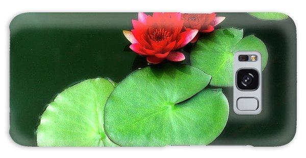 Red Lotus Galaxy Case