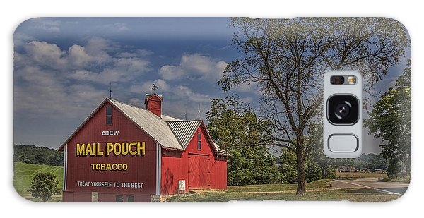 Red Mail Pouch Barn Galaxy Case by Wendell Thompson