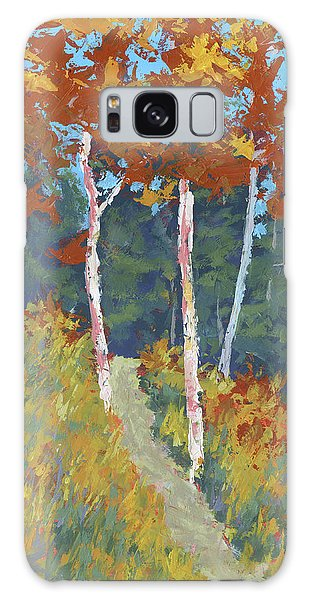 Red Mountain Aspens Galaxy Case