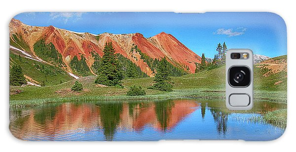 Red Mountain-grey Copper Gulch Galaxy Case