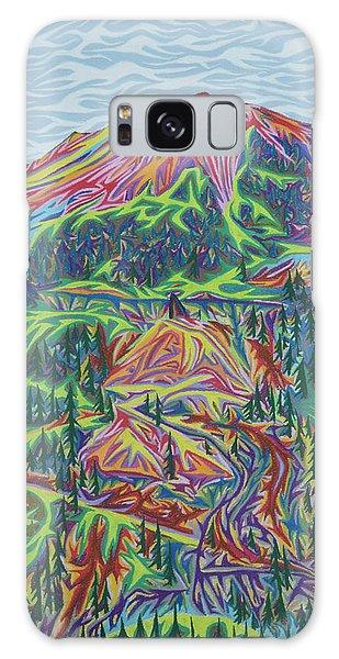 Red Mountain Galaxy Case by Robert SORENSEN