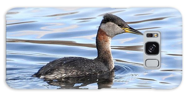 Red-necked Grebe Galaxy Case