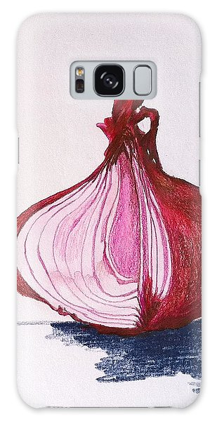 Red Onion Galaxy Case by Sheron Petrie