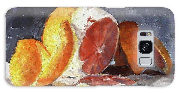 Galaxy Case - Red Orange by Irek Szelag