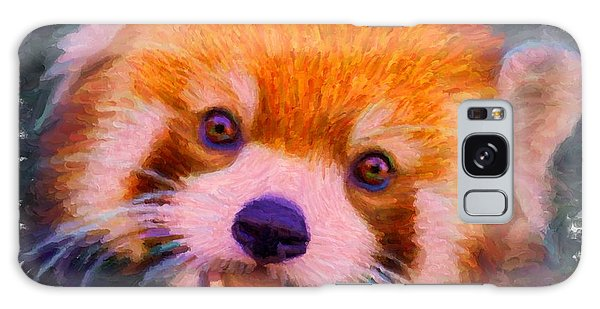 Red Panda Cub Galaxy Case
