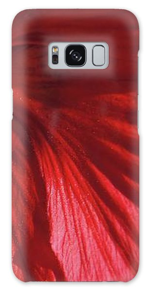 Galaxy Case - Red Petals by Megan Cohen