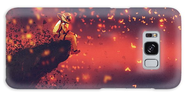 Red Planet Galaxy Case