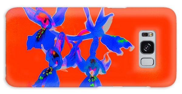 Red Provence Orchid Galaxy Case