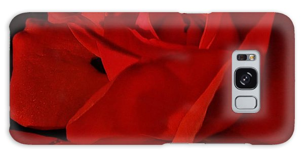 Red Red Rose  Galaxy Case