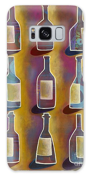 Galaxy Case featuring the painting Red Red Wine by Carla Bank