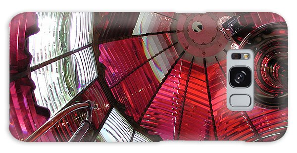 Red Reflections Galaxy Case