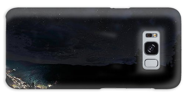 Red River Under Starry Skies Galaxy Case