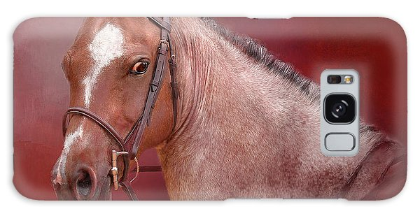 Red Roan Galaxy Case