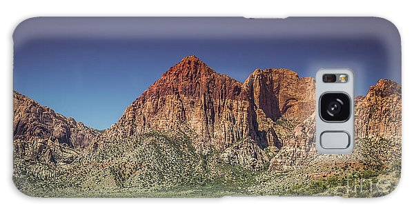Red Rock Canyon #20 Galaxy Case