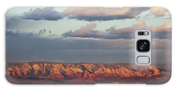Galaxy Case featuring the photograph Red Rock Crossing, Sedona by Ron Chilston