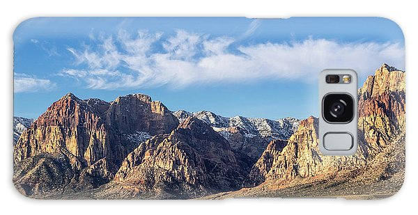 Red Rock Morning Galaxy Case