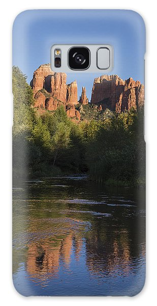 Red Rock Reflections Galaxy Case