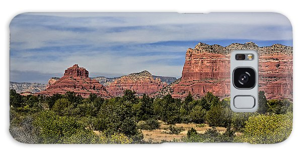 Galaxy Case featuring the photograph Red Rock Scenic Drive by John Gilbert