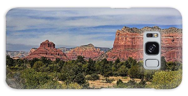 Red Rock Scenic Drive Galaxy Case by John Gilbert