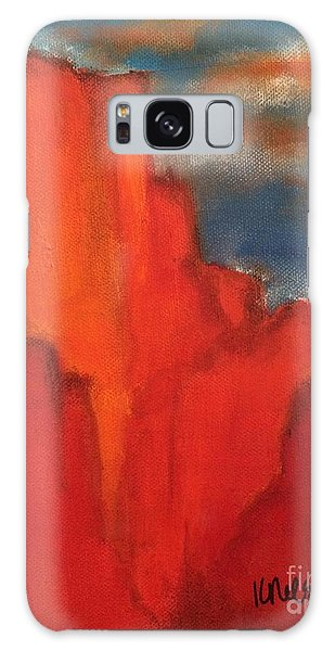 Red Rocks Galaxy Case by Kim Nelson