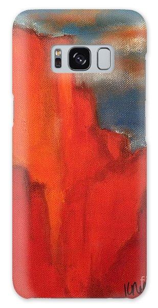 Red Rocks Galaxy Case
