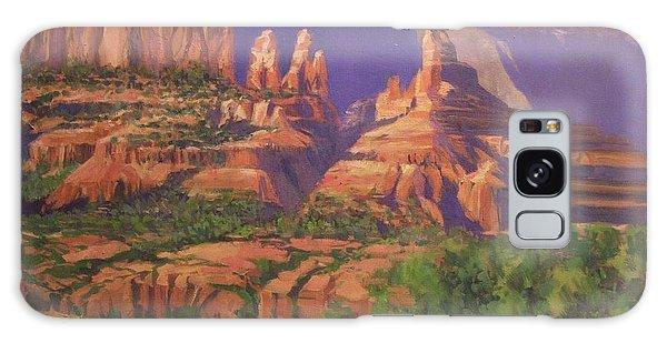 Red Rocks Sedona Galaxy Case