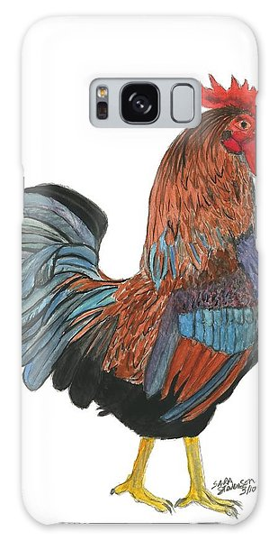 Red Rooster Galaxy Case