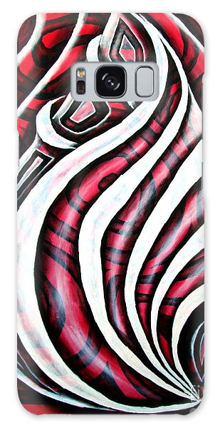 Red Rose 1 Galaxy Case