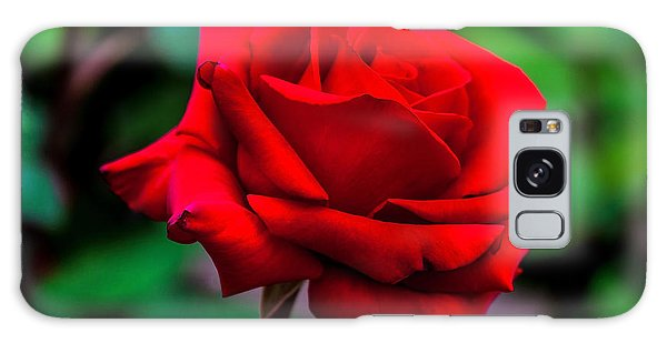 March Galaxy Case - Red Rose 2 by Az Jackson