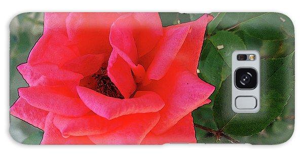 Pink Rose  Galaxy Case by Don Pedro De Gracia