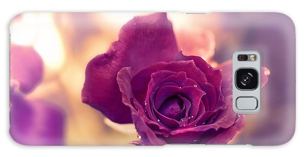 Red Rose Galaxy Case by Charuhas Images