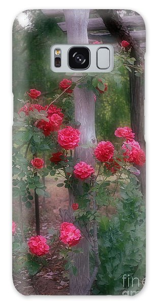 Red Rose Dream Galaxy Case