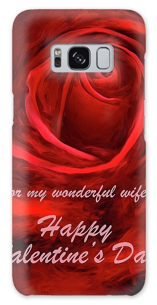 Red Rose II Galaxy Case by George Robinson