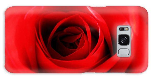 Red Rose Galaxy Case by Nina Ficur Feenan